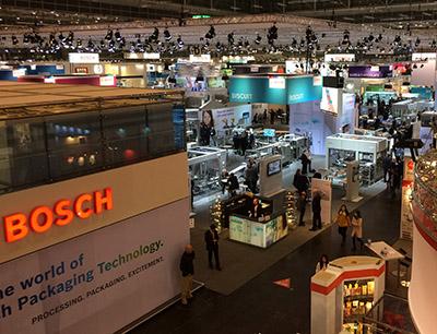 Messestand Bosch Packaging