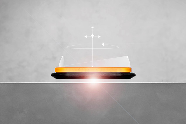 Die Magnetschwebetechnologie ermöglicht Produktmanipulationen und -transporte mit sechs Freiheitsgraden.