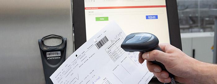Nach dem Scan ermittelt die Bluhmware alle kennzeichnungsrelevanten Informationen
