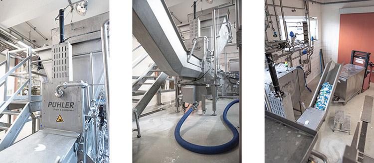 WEIMA PUEHLER G.300 ReWork Entwässerungspresse aus Edelstahl