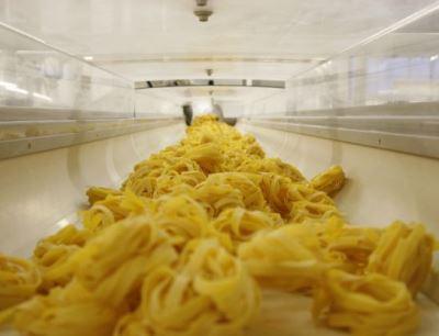 Produktion von Nudeln bei Barilla