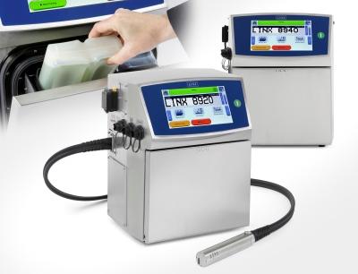 Bluhm Systeme Tintenstrahldrucker Linx 8920 und Linx 8940