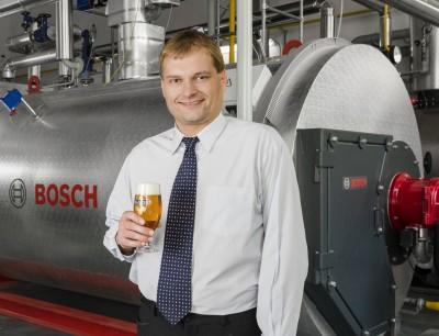 Bosch Dampfkessel Pivovar Klášter