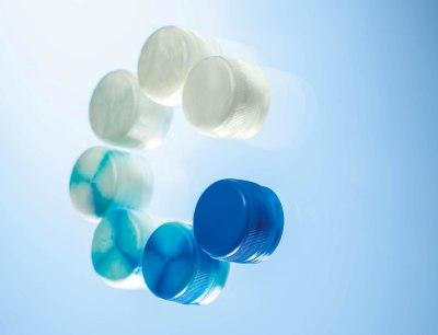 Reinigungsgranulat für schnelle Farb- und Materialwechsel