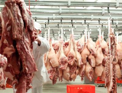 Fleischerzeugung im Jahr 2015 mit neuem Rekordwert