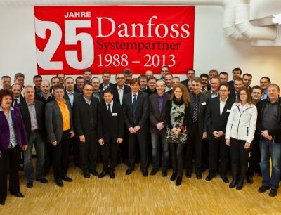 Gruppenfoto Danfoss VLT Antriebstechnik