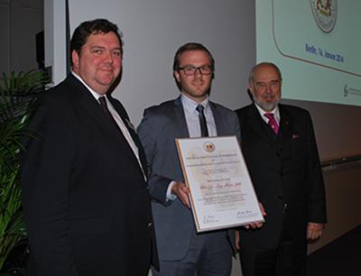 Preisverleihung Wissenschaftlicher Förderpreis 2014