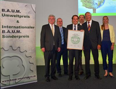 Verleihung Umweltpreis 2013