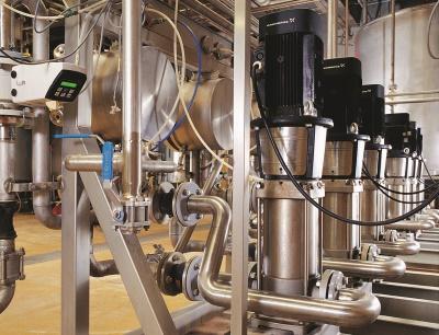 Grundfos bleibt weiter im Lebensmittel-, Getränke- und Pharma-Markt aktiv