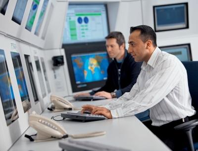 BASF: Rechenzentrum - Leitwarte