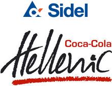 Logo Sidel Coca-Cola Hellenic