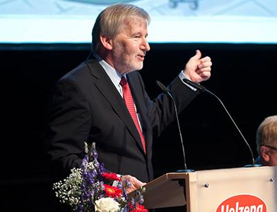 Vorstandsvorsitzender Claus-Peter Witt