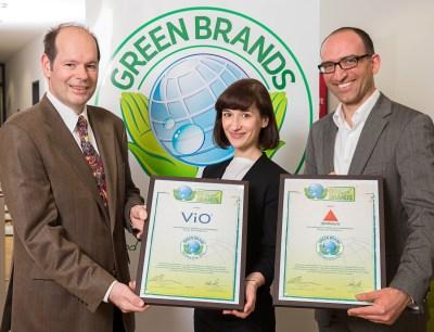 Green Brands Preisübergabe
