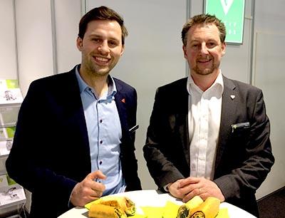 Alexander Mildner und Ralf Drews von Greif-Velox