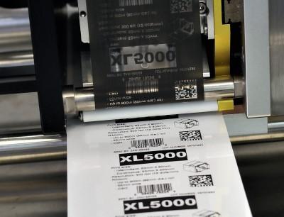 Der neue XL 5000 Thermotransfer-Drucker von Allen Coding