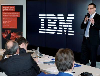 Arno Reich, Abteilungsleiter Digital Factory bei der Deutschen Messe AG