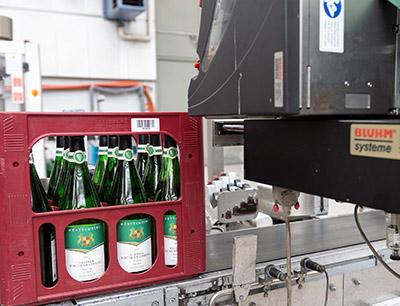 Bluhm Systeme Etikettendruckspender für Kästen
