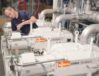 Das Handelsblatt zeichnet Busch Vacuum Solutions als einen von Deutschlands wachstumsstärksten Mittelständlern 2019 aus, Bild: Busch Vacuum Solutions