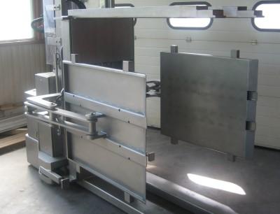 Elektrohubwagen und -stapler aus Edelstahl