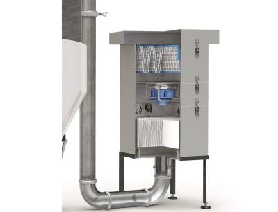 Das Tank Überdrucksystem TPU 500 schützt Flüssigkeiten in Silos vor Produktkontamination