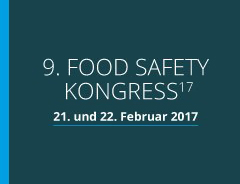 9. Food Safety Kongress