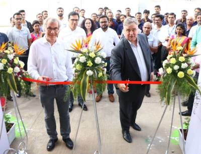 Eröffnungszeremonie Fristam Pumps India in Pune
