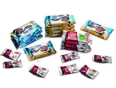 Süßwaren in Schlauchbeutelverpackungen von Gerhard Schubert