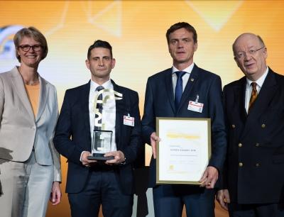Endress+Hauser Messtechnik GmbH + Co. KG gewinnt den Hermes Award