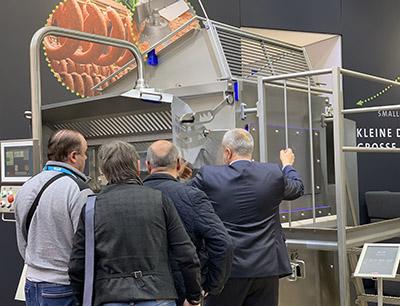 Nahrungsmittelmaschinen auf der Iffa 2019