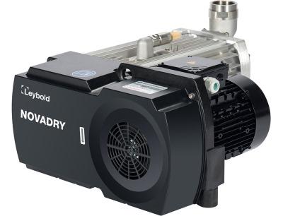 Leybold präsentiert 100 Prozent ölfreie Schraubenvakuumpumpe Novadry