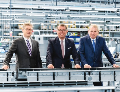 Das Führungsteam von Multivac (v.ln.r.): Guido Spix, CTO; Christian Traumann, CFO; Hans-Joachim Boekstegers