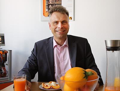 Markus Sandhöfner, Geschäftsführer B&R Deutschland