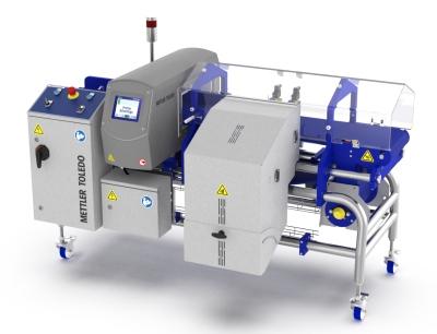 Mettler-Toledo stellt die neuen Metallsuchsysteme auf Förderband der CG Serie vor