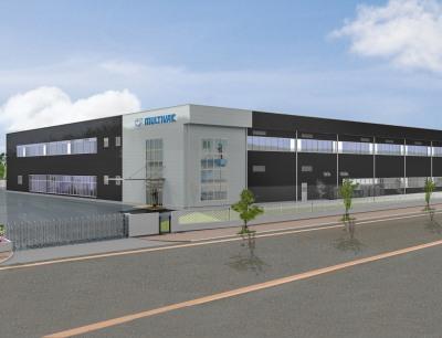 Für rund 20 Millionen Euro baut das Unternehmen ein neues Multifunktionsgebäude im japanischen Tsukuba