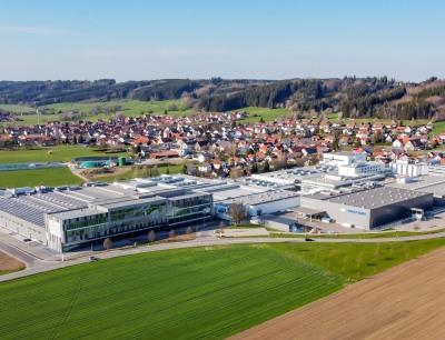 Im Bild der Multivac Standort Wolfertschwenden