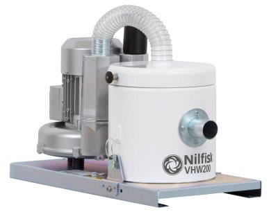 Nilfisk Einbausauger VHW200 für die Pharma-, Lebensmittel- und Chemieindustrie
