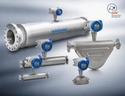 Entrained Gas Management (EGM) jetzt für alle Optimass Coriolis Masse-Durchflussmessgeräte verfügbar