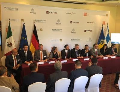 Pressekonferenz der Nürnberg Messe Group zur Ankündigung des Markteintritts in Mexiko