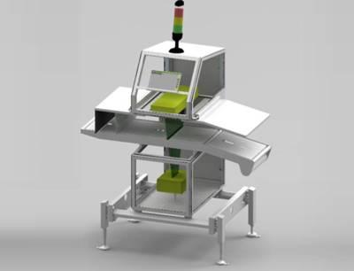 Sesotec präsentiert auf der IFFA 2019 eine Designstudie des Röntgenscanners RAYCON D+ als Diskussionsgrundlage für Kundenfeedback