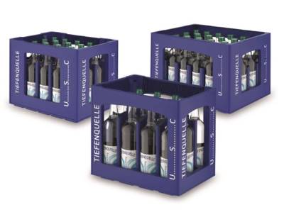 Die neuen Universal Standard Flaschenkäste der USC-Serie von Schoeller Allibert