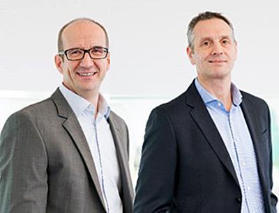 Jörg Brenner, Kaufmännischer Leiter & Jens Stoll, Leiter Technische Organisation