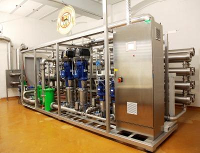 E-SV Pumpen von Lowara sorgen für den richtigen Druck in der Brauerei Gold Ochsen in Ulm