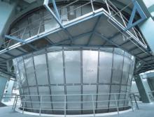 Die MSD Sprühtrockneranlage ist mit hygienischen Isolierpaneelen aus nichtrostendem Stahl ausgerüstet
