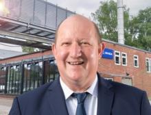 Oliver Blaha, Geschäftsführer bei Ishida vor der neu eröffneten Niederlassung in Hamburg