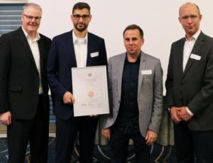 Überreichung des Star-Audit-Zertifikats in Zürich
