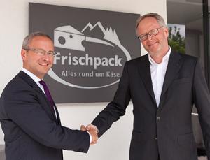 Frischpack-Geschäftsführer Marian Heinz und Manfred Heimes