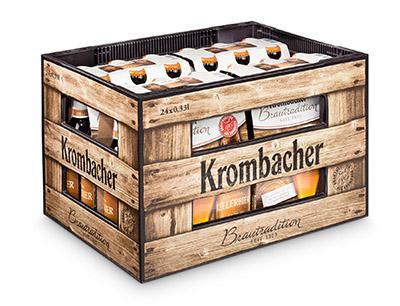Krombacher Setzt Für Neues Kellerbier Auf Holzdesign