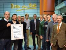 Erfolgreiche Energie-Zertifizierung bei Bitburger