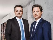 Bizerba Geschäftsführer v.l. Stefan Junker und Andreas Wilhelm Kraut