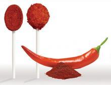 Lutscher mit Chiligeschmack
